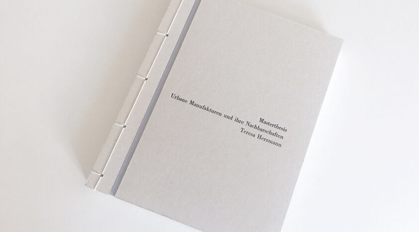 publication of a Master's thesis